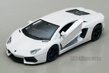 Lamborghini Aventador LP700-4 white, Welly scale 1:34-39, model toy car gift