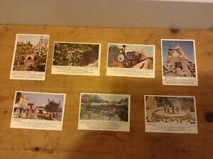 Lot of 7 1965 Donruss DISNEYLAND w/Puzzle Back  NM Trading Cards