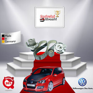 KIT DISTRIBUZIONE + POMPA VW GOLF V 1.9 TDI 66KW 90CV DAL 2004 ->2008 FP44458V-2