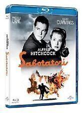 Blu Ray  SABOTATORI ** Hitchcock **   ......NUOVO