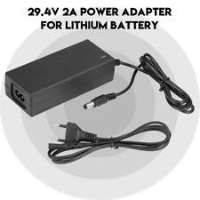 DC29.4V Ladegerät Netzteil Kabel Ladekabel Lithium-Batterie Sichere Aufladung