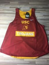Nike USC Women's Mesh Trojan Size XL Jersey Basketball NCAA Red Dri Fit NWT