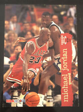 1995 95-96 NBA Hoops Michael Jordan #21 with Shaquille O'neal HOF Chicago Bulls