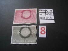 timbre ancien (années 1950) vendu à 20% COB  1150-1151 EUROPA oblitéré