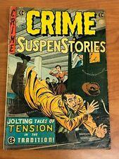 Crime Suspenstories #26 EC Comics 1954 GD-