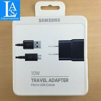 ✅Original Samsung Galaxy EP-TA12JBE10W Charger Charging Adapter &Micro USB Cable