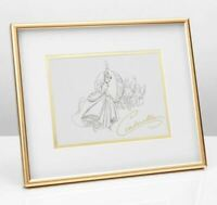 DISNEY COLLECTABLE FRAMED PRINT OF CINDERELLA FROM WIDDOP AND CO