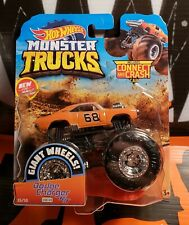 2019 HOT WHEELS MONSTER TRUCKS GIANT WHEELS ** DODGE CHARGE R/T ** 35/50