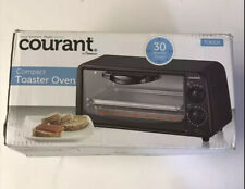 Courant TO621K Compact Toaster Oven Black