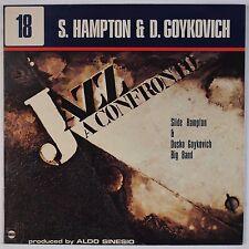 SLIDE HAMPTON, DUSKO GOYKOVICH: Jazz Confronte 18 '75 Horo Italy LP Funk Breaks