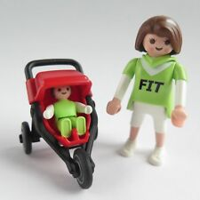 0937 Playmobil New Jogger Stroller for Baby Figure