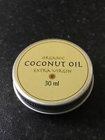 Coconut Oil - Pure, Raw, Extra Virgin, Organic. Natural Fragrance.In metal Tin