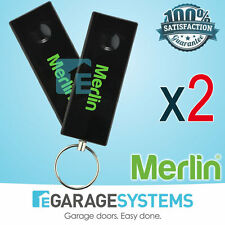 Merlin Chamberlain E950M Will Suit MT100EVO Garage Door Remote Control  x2