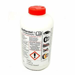 Genuine Continental Tyre Puncture Sealant Liquid Bottle 300ml  Ford Honda Nissan