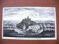 Kupferstich DURHAM CASTLE -R56