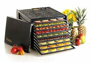 Excalibur 9-Tray Electric Food Temperature Settings and 26-hour Timer Automat...