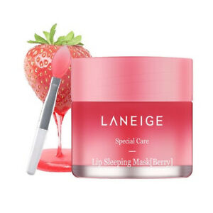 LANEIGE Lip Sleeping Glowy Masks 3g Korean Cosmetics Berry Lip Moisturizer Care