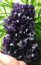 F2429 Dreamlike Natural Amethyst / Purple Quartz Crystal Cluster Specimen  5.3lb