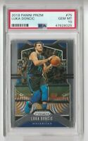 2019 Panini Prizm #75 Luka Doncic PSA 10 Gem Mt Dallas Mavericks
