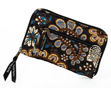 Bella Taylor Wrist Strap Wallet Amaretto VHC Brands Black Teal Gold Floral