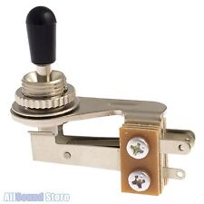 NEW - Right Angle 3-Way Nickel Plated Toggle Switch for Guitar - Made in Japan