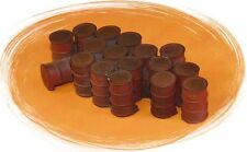 Bar Mills #04017 CLOSED 55 GALLON DRUMS O Scale NEW 4017