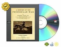 A history of the Peninsular War by Oman, Charles William Chadwick 7 Volume CDROM