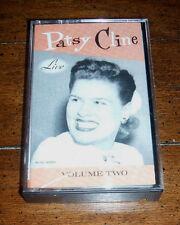 CASSETTE TAPE: Patsy Cline - Live Volume Two Vol 2 (1989, MCA) Strange Shoes