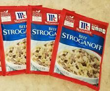 (3) McCormick Beef Stroganoff Sauce Seasoning Mix  1.5 oz Each Packet
