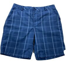 Under Armour Mens 34 Blue Polyester Shorts