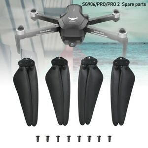 12PCS SG906 PRO/PRO 2/Max Drone Spare Parts Propellers Blade Quick-Release Props