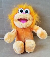 """Vintage Sesame Street Zoe 11"""" Poseable Plush Stuffed Animal Doll Playskool 1994"""