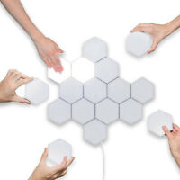 LED Quantum Hexagonal Wall Lamp Modular Touch Sensor Night Light Home Decor