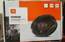 "JBL  GX638 6"" x 9"" 3-Way Car Loudspeakers with Polypropylene Cones Pair Orange/B"