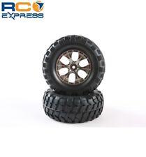 Tamiya Rock Block Tires - w/Tapered 6-Spoke Wheels TAM54483