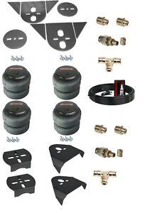 """Torsion Bar Import 3/8"""" Front Rear Air Ride Suspension Bag Bracket Mount Kit"""