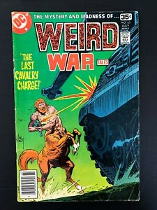 WEIRD WAR TALES #65 DC COMICS 1978 FN+ NEWSSTAND EDITION