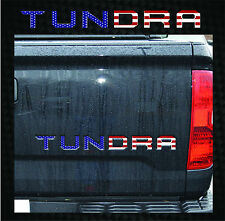 2014-2015 Tundra Tailgate American Flag Stars & Stripes Vinyl Decal Graphics