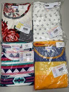 4 LuLaRoe Irma Tunic Shirt Top Size 2XS 7
