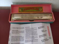 Geputzte, desinfizierte HOHNER-Tremolo-Mundharmonika
