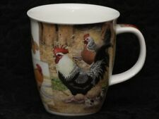 DUNOON COUNTRY LIFE (Roosters & Hens) Fine Bone China NEVIS Mug #2B