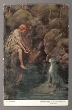 1910s Imperial Russian Solomko Art Antique Postcard Mermaid #93