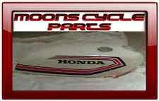 NOS Honda CB-50 Cafe Racer New Original Fuel Gas Tank 1970s Vintage White