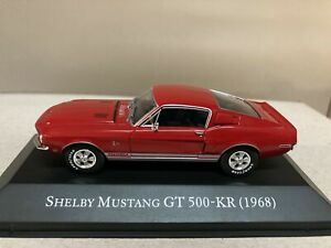 SHELBY MUSTANG GT 500-KR 1968 AMERICAN CARS ALTAYA IXO 1:43