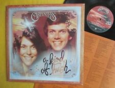 The Carpenters Lp incl insert -A Kind Of Hush, Australian A&M pressing