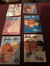 Six Barbie Catalogs - Let The Pictures Be Your Guide Some Very Good, Others Not