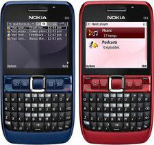 QWERTY Keypad Unlocked Nokia E63 Wifi 3G Camera 2MP Mp3 Player Mobile Bar Phone