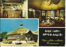 Ethiopia Sc#445,#446 Addis Ababa 26/2/70 Pictorial Advertising Postcard