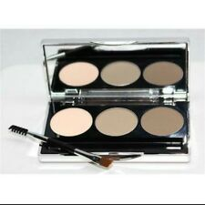 BARE MINERALS ARCH & DEFINE BROW PERFECTING PALETTE 3 COLORS BRUSH PALETTE NEW!