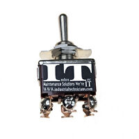 IndusTec 20A 125V DPDT - 6 screws On/Off/On Toggle Switch Momentary 3 Pos 12V